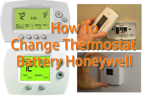 How To Change Thermostat Battery Honeywell