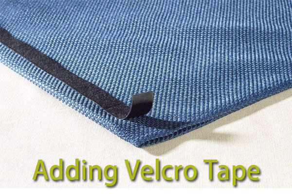 Adding Velcro Tape